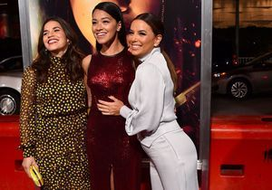 Eva Longoria, fou rire sur tapis rouge avec les actrices d'Ugly Betty et Jane the Virgin !
