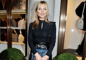 Fashion Week de Londres : Kate Moss star de la soirée Longchamp