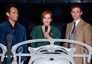 J.K Rowling, Jude Law et Eddie Redmayne réunis à Paris pour l'avant-première magique des « Animaux Fantastiques 2 »
