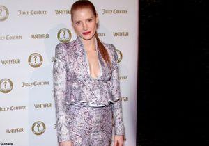 Jessica Chastain brille lors de la soirée des Vanity Fair and Juicy Couture Host Vanities