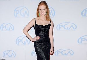 Jessica Chastain illumine les Producers Guild Awards