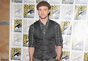 Justin Timberlake, beau gosse du Comic Con International
