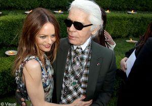 Karl Lagerfeld reçoit les fashionistas à Versailles