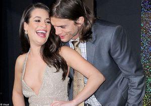 """Lea Michele et Ashton Kutcher, complices à la première de """"New Year's Eve"""""""
