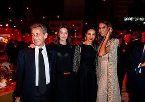 Les Sarkozy font la fête avec Johnny Depp, Victoria Beckham et Cindy Bruna
