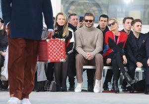 Les stars au premier rang des défilés de la Fashion Week homme