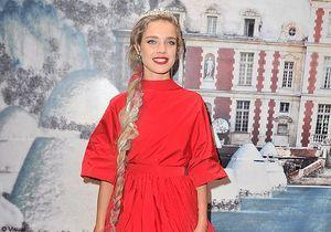 Natalia Vodianova, petit chaperon au White fairy tale love ball