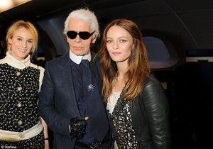 Vanessa Paradis, Diane Kruger et Alice Dellal au défilé Chanel