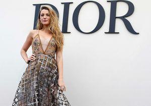 Blake Lively, atout charme du défilé Dior à Paris