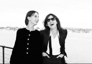 Charlotte Gainsbourg et sa fille Alice Attal, complices pour Saint Laurent