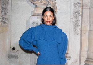 Fashion Week de Paris : Tina Kunakey sublime face à Maisie Williams