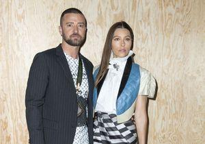 Justin Timberlake et Jessica Biel : amoureux à la Fashion Week de Paris