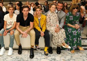 Les enfants Beckham font le buzz à la Fashion Week de Londres