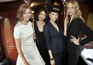 Les stars embarquent à bord du Dior Express !