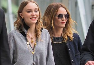 Lily-Rose Depp et Vanessa Paradis, mère et fille stars du défilé Chanel