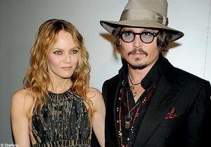 Vanessa Paradis et Johnny Depp illuminent la Croisette