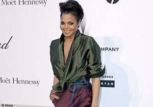 Janet Jackson rayonnante lors du gala de l'AmfAR