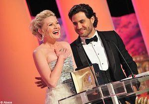 Kirsten Dunst et Jean Dujardin, grands vainqueurs de Cannes 2011