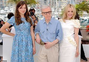 """Woody Allen et ses muses pour """"Midnight in Paris"""""""