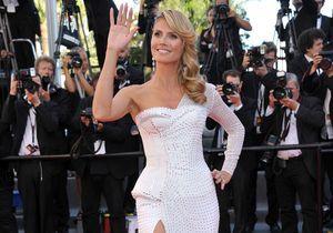 Le look du jour de Cannes : Heidi Klum