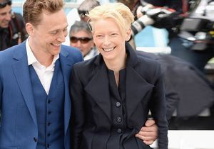 Tilda Swinton pose pour « Only Lovers Left alive »