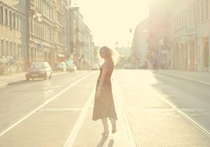 Un peu de soleil malgré l'actu… par Marion Ruggieri