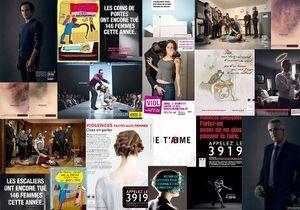 75 affiches pour dénoncer les violences faites aux femmes