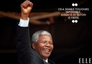 20 citations positives et inspirantes de Nelson Mandela