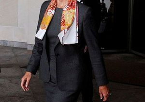 Le fashion marathon de Christine Lagarde