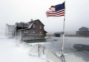 Vague de froidaux Etats-Unis: 14 images stupéfiantes