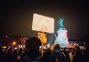 Violences faites aux femmes : le rassemblement parisien en dix clichés