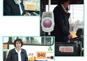 Fathia, conductrice de bus