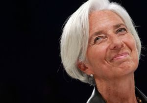 Christine Lagarde bluffante au Women's Forum