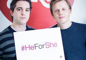 Exclu : découvrez les premiers clichés de la campagne #HeForShe en France