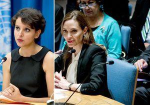 Les femmes de la semaine : Angelina et Najat, même combat