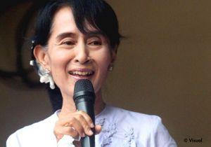 Les femmes de la semaine : Aung San Suu Kyi, élue députée