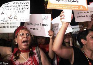 Les femmes de la semaine : les Tunisiennes dans la rue pour défendre leurs droits