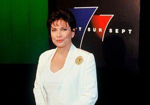 Anne Sinclair, l'animatrice emblématique de 7 sur 7