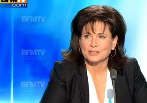 Anne Sinclair quitte son poste à BFM TV