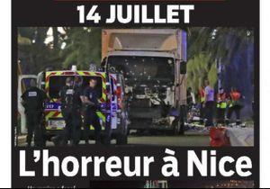 Attentat à Nice : les unes de la presse