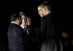 Barack et Michelle Obama auprès des familles des victimes de San Bernardino