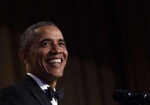Barack Obama : des blagues mais aussi un clin d'œil à Hillary Clinton