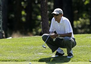 Barack Obama perturbe un mariage et s'excuse auprès des jeunes époux