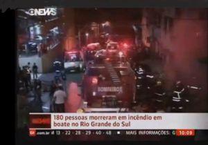Brésil : 245 morts dans l'incendie d'une discothèque