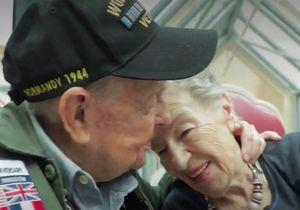 « C'est tellement merveilleux de te revoir » : 75 ans après, les retrouvailles d'une Française et d'un soldat américain