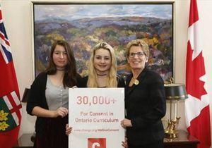 Canada : deux lycéennes font inscrire l'éducation contre le viol au programme scolaire