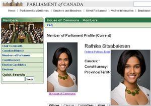 Canada : la photo officielle d'une députée retouchée car trop sexy