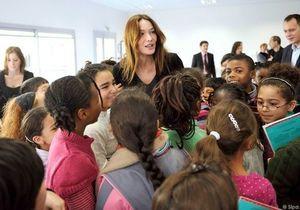 Carla Bruni en banlieue pour lutter contre l'exclusion