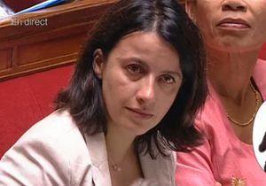 Cécile Duflot en larmes à l'Assemblée nationale