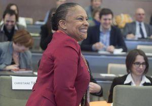 Christiane Taubira répond aux attaques de la droite